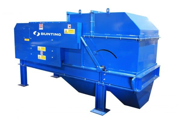 Bunting Cropped Eddy Current Separator