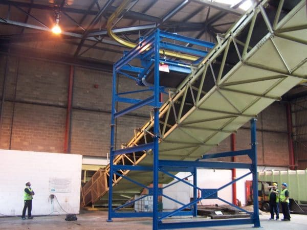 Bunting Overband Installation