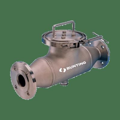 Bunting Liquid Pipeline Seperator