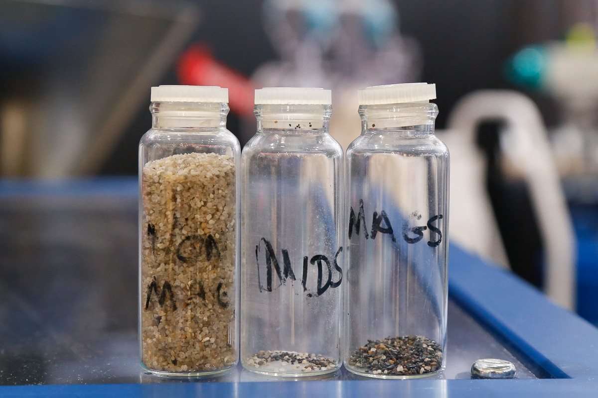 Bunting magnetics sample bottles
