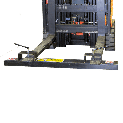 Bunting Forklift magnetic sweeper