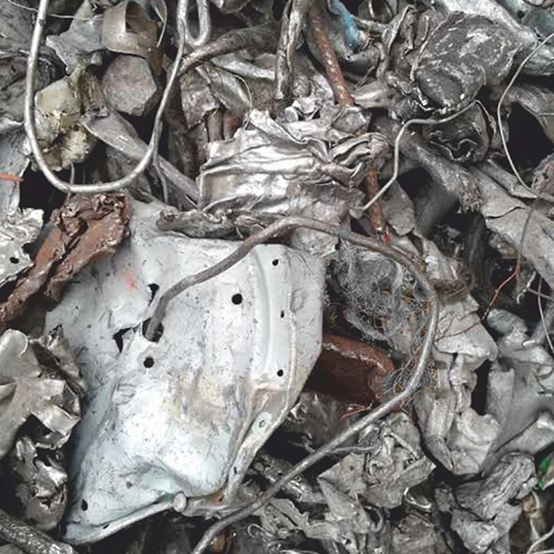 Shredded Ferrous Scrap Metal